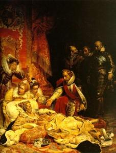 The Death of Elizabeth (1828)